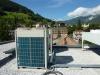 VRV Außengerät am Flachdach - Heizen und Kühlen